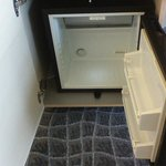 The empty minibar :-)