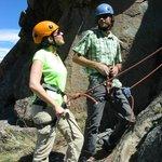 rock climbing at Chalten
