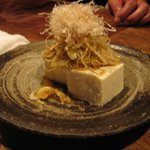 My favourite (negi-jako tofu)