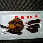 Fried Ice Cream at Mikado