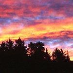 Sunset on a summer evening