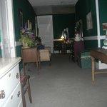 hallway where shadow man is seen