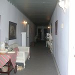 hallway with famous #37 room Sarahs room