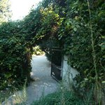 entrance to Pigeonnier garden