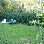 private garden of Pigeonnier cottage