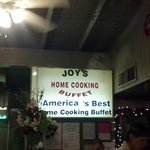 joy to be eating here