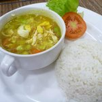 breakfast -soto ayam-