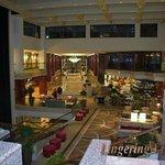 Large spacious lobby