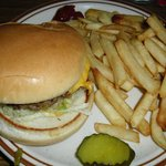 Green Chili Cheeseburger & Fries