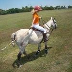 Me playing polo at Guapa Polo