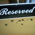 The Door- reserved table for my friend's birthday clebration
