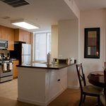 Reston Furnished Apartment Kitchen