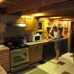 Matt's Cabin kitchen