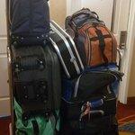 bagagem de 2 pessoas rsrs
