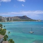 Diamond Head from Waikiki Shore Hotel