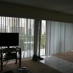 Double width balcony with 1 b/r condo