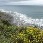 Promenade le long de la falaise