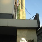 Baiyoke sky close by
