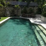 Our private villa pool, magnificent!