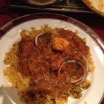 chicken balti & mushroom rice :-)