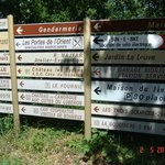 There is tips for travel at Terrases du Luberon