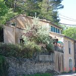 It is at road from Terrases du Luberon to centre of Bonnieux