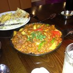 chicken and keema Jalfry