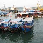 Le port de peche de NHA TRANG