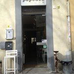 pop cafe entrance