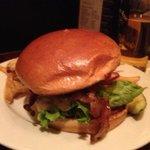 Dublin Burger on brioche