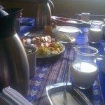 desayuno muy rico