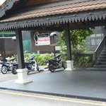 Hornbill Restaurant and Cafe entrance