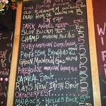 List of Beers Feb 3 2013