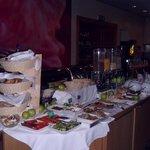 het avond buffet
