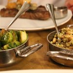 Brussel sprouts and quinoa