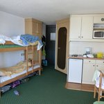 Bunkbeds, Kitchen