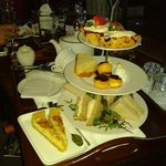 afternoon tea is to die for...