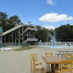 Outdoor waterpark