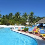 Swim Up Bar and the best cornor of the pool for sun,