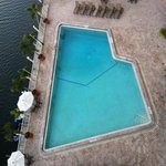 birdseye view of pool-from 6th fl lounge