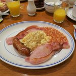 Yummy full English breakfast