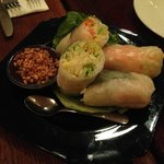 Summer Rolls with Shrimp…if you can find any ☺