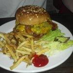 my husband's burger