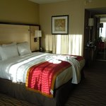 Newly renovated king bedded room