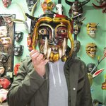 Some examples of Bill's mask collection