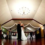 Wedding reception in the Grand Ballroom (call for banquet facilites tour today)