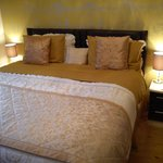 The Gold room superking bed