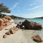 Nice beaches on Corsica