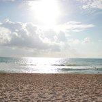 le soleil a la plage