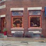Courier Cafe Exterior